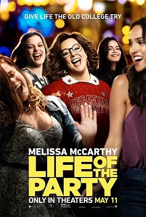 ดูหนังออนไลน์ฟรี Life of the Party (2018) ไลฟ์ ออฟ เดอะ ปาร์ตี้