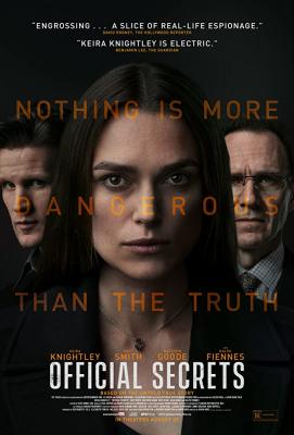 ดูหนังออนไลน์ฟรี Official Secrets (2019) รัฐบาลซ่อนเงื่อน