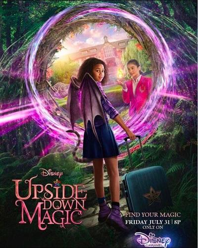 ดูหนังออนไลน์ฟรี Upside-Down Magic (2020) ด้วยพลังแห่งเวทมนตร์ประหลาด